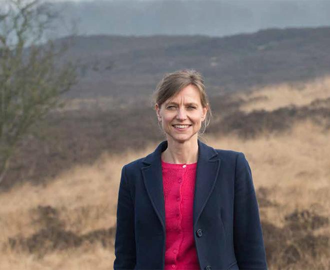 Sonja van der Meer van stichting het Drentse Landschap, klant van Afier accountants en adviseurs