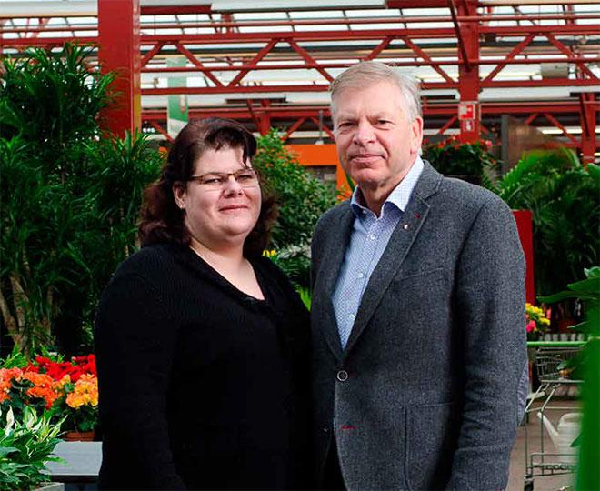 Girbe en Serena Drenthe van Tuinland, klant van Afier accountants en adviseurs